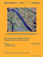 #57 The Chesapeake Bay NERRS in Virginia: A Profile of the York River Ecosystem