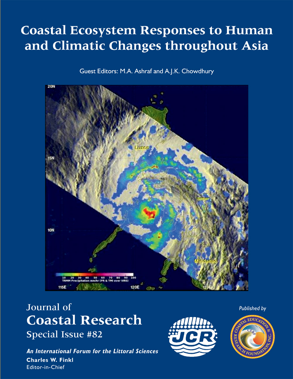 #82 Coastal Ecosystem Responses to Human and Climatic Changes throughout Asia